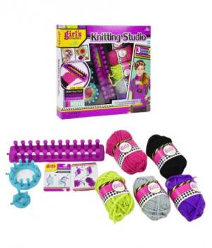 Детский набор для вязания для девочки, МВК281