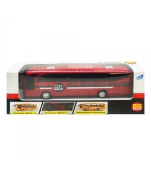 Автобус игрушка на батарейках (красный)