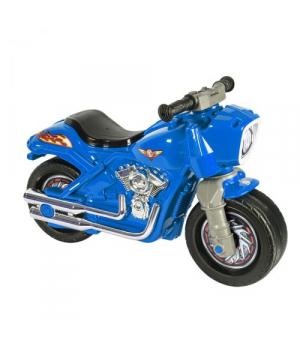 Детский мотоцикл толокар синий, Орион