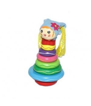 """Игрушка деревянная пирамидка """"Девочка"""" W02-5158"""