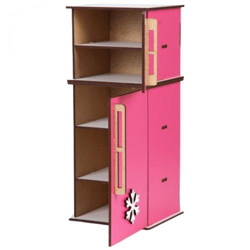 Холодильник деревянный для кукол Б29р