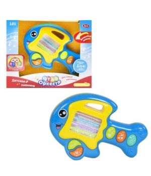 Детское пианино игрушка, Чудо оркестр, синий, Play Smart