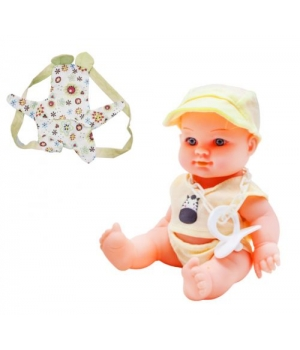"Детский Пупс резиновый ""Baby Kid"", желтый 12101 Р"