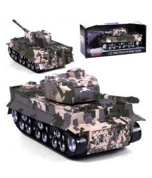 Танк Military Tank, инерционный 360-8