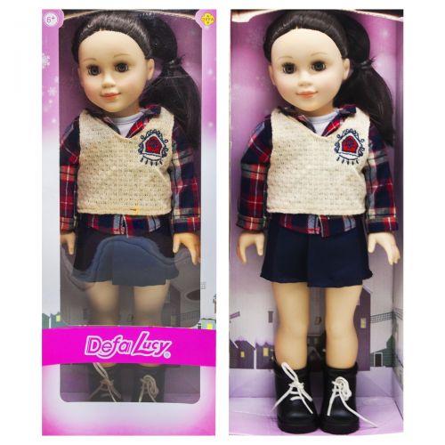 """Большая детская кукла в школьной форме """"DEFA"""""""