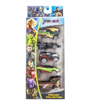 """Набор машинок """"Avengers: Endgame"""" вид 2 307-5C"""