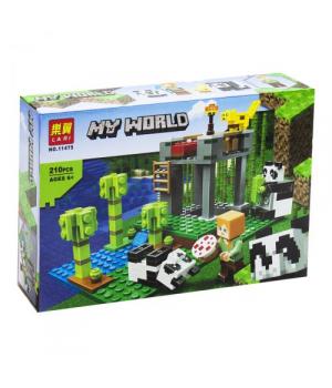 """Конструктор""""Minecraft: My World"""", 210 деталей 11475"""