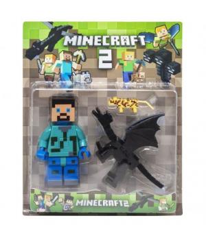 """Игровой набор """"Minecraft"""", с драконом JL18330-2"""