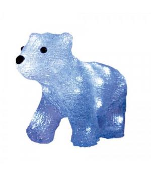 """Акриловая светодиодная фигура """"Белый медведь"""" GL6017"""