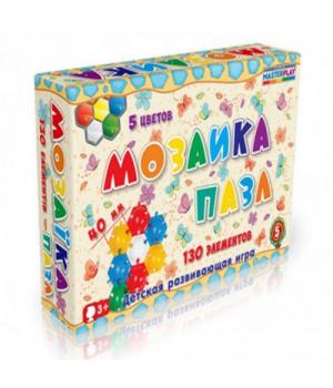 Большая мозаика для детей, 130 деталей, Технок