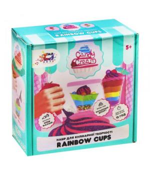 """Лепка из пластилина сладости """"Candy cream. Rainbow cups"""" 75003"""