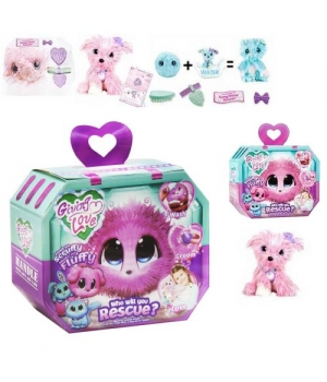 """Мягкая игрушка-сюрприз """"Scruff A Luvs: Snow Pals"""", розовый щеночек 6166ABCD"""