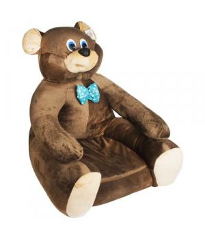 Мягкое кресло Мишка коричневый 113035