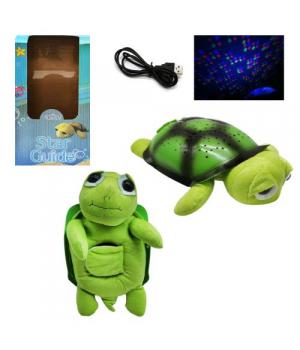 """Ночник детский на батарейках и USB кабель """"Зелёная Черепаха"""" ML88-6"""