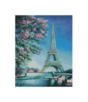 """Алмазная мозаика """"Весна в Париже"""" FA20153 40х50 см"""