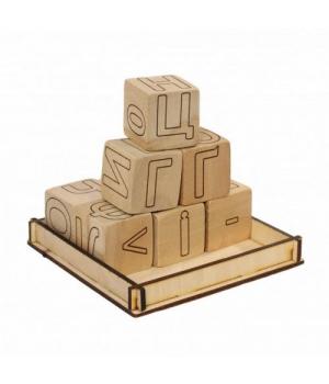 [172193] Набор деревянных кубиков