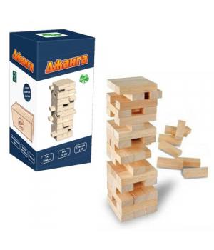 Настольная игра Дженга Падающая башня, 54 бруска