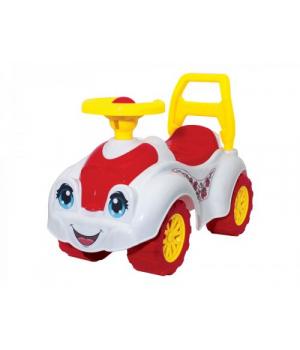 Машинка-каталка для прогулок (белая) 3503
