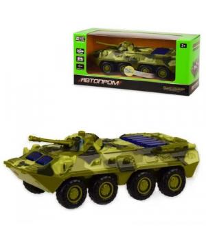 "RUS Модель танк PLAY SMART 6409D ""Автопарк"" метал.инерц.батар.зв.свет кор.17*6,5*8 ш.к./96/"