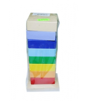 """Логическая игрушка пирамидка """"Разноцветная башня"""" И025"""