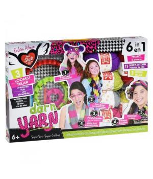 """Детский набор для вязания для девочки, """"Fashion Aileen"""" 553-1"""