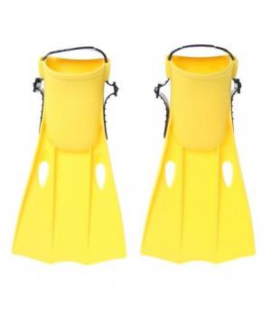 """Детские ласты """"Swim Fins"""", желтые, размер 35-37, Intex"""