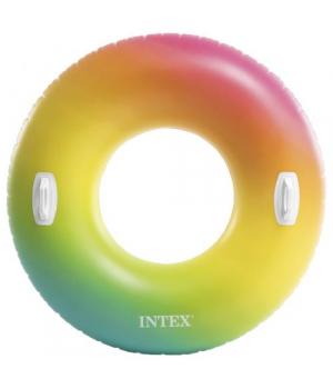 Надувной круг для плавания, с ручками, от 12 лет