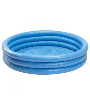 Детский бассейн для дачи надувной, круглый, 114*25 см, Intex