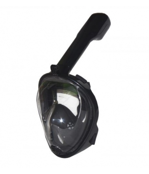 Маска для снорклинга (черная) S/M HC190734, Free Breath