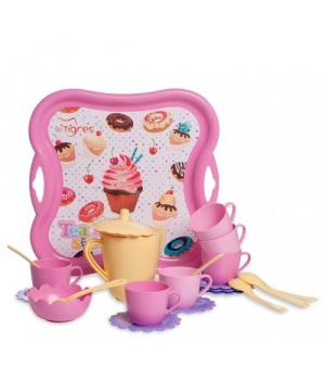 """Посуда игрушечная для детей, """"Чайный набор"""", Тигрес"""