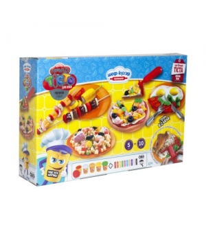 """Набор теста для лепки """"Master-Do: Шеф-Повар. Кулинария"""" MEGA BOX (укр) TMD-09-01U"""