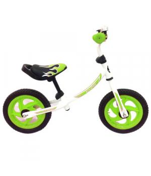 """Беговел с надувными колесами для мальчика, """"Eclipse"""" (зеленый)"""