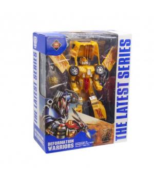 """Робот-трансформер """"Deformation Wariors"""" (желтый) 8812А-С"""