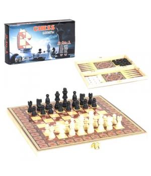 Шахматы 3 в 1 C36819