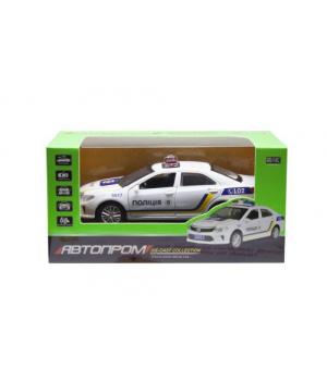 """Полицейская машинка игрушечная Toyota Camry """"Автопром"""" 7844"""