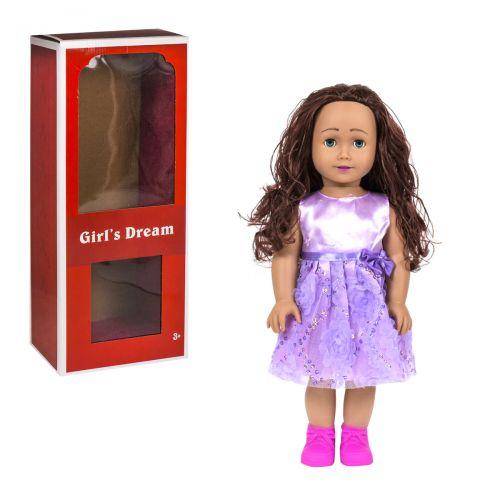 """Детская кукла """"Girl's Dream"""", 45 см (в фиолетовом) 8920 Е"""