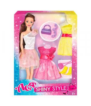 """Детская кукла """"Ася"""" с гардеробом и аксессуарами 35066"""