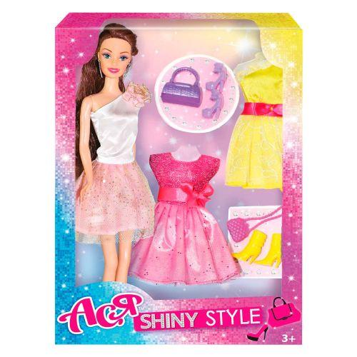 """Кукла с набором одежды и аксессуарами """"Ася"""" 35066"""