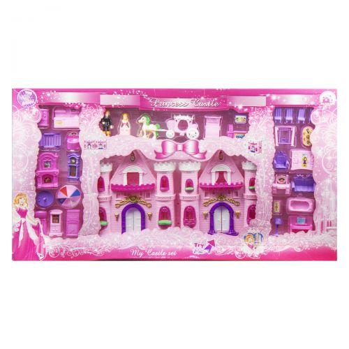 Кукольный домик замок, свет, звук