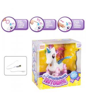 """Интерактивная игрушка """"Смышлённый питомец: единорог"""" (белый) E5599-8"""