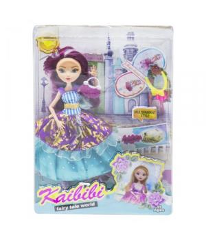 "Игрушка кукла ""KAIBIBI: Fairy Tale World"" с аксессуарами (фиолетовый) BLD123"