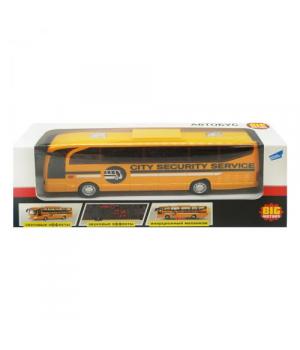 Автобус детская игрушка на батарейках (желтый)