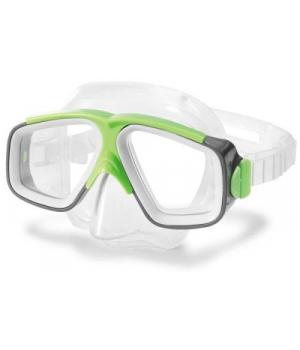 Детская маска для плавания от 8 лет, Surf Rider Masks, салатовый, Intex