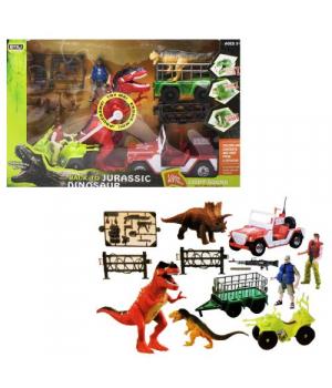"""Игровой набор """"Back to Jurassic Dinosaur"""", красный 7733"""