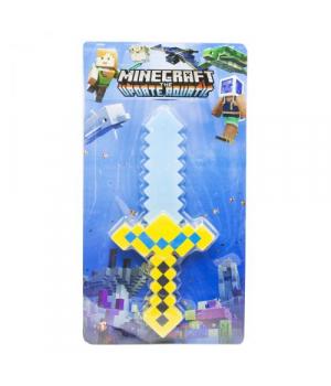 """Меч """"Minecraft"""", желтый, 38 см 9011-2"""