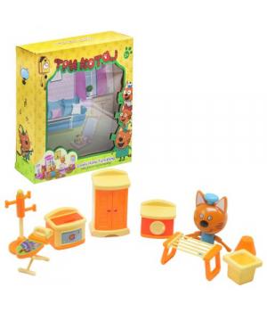 Кот Коржик игрушка Три кота, Набор Мебели, M-8813