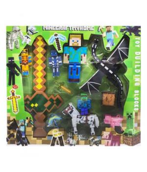 """Игровой набор с оружием """"Minecraft"""", вид 1 10249"""