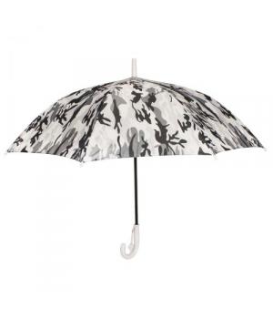"""Детский зонт """"Камуфляж"""", светло-серый"""