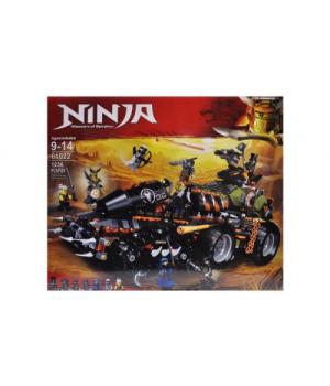 """Игрушка конструктор """"Ninja - Ниндзя: Master of Spinjitzu"""" 1236 деталей 61022"""