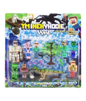 """Детский конструктор Набор фигурок """"Minecraft - Майнкрафт - Майнкрафт"""" J06"""